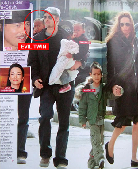 Little Zahara Jolie Pitt