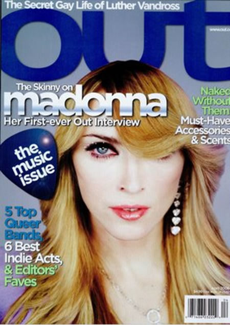 Madonna on Magzine Cover