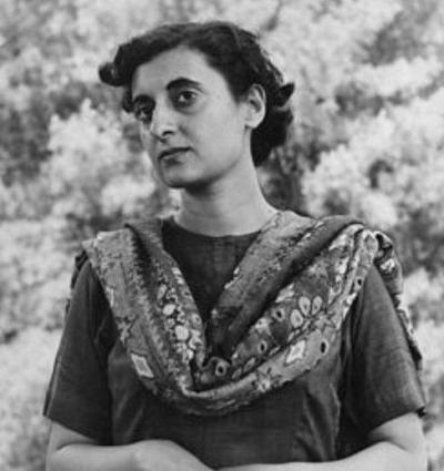 Indira Priyadarshini Gandhi - India