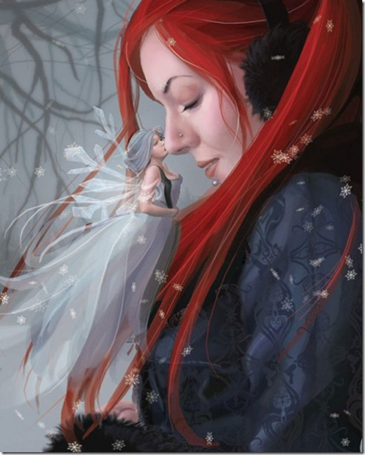Winters Kiss by Vixelyn