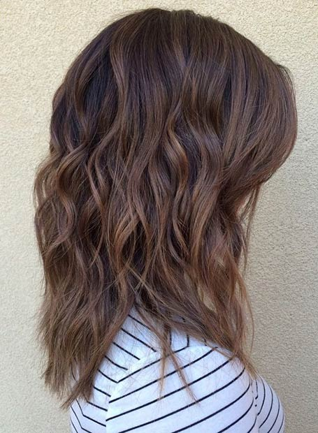 CARAMEL TONES + BEACH WAVES