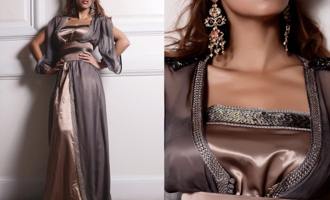 Caftan Marocain Style de Luxe