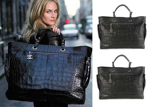 Croc Biarritz by Chanel