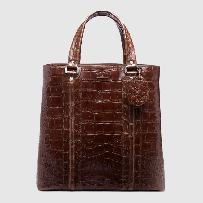 Crocodile Tote by Gucci