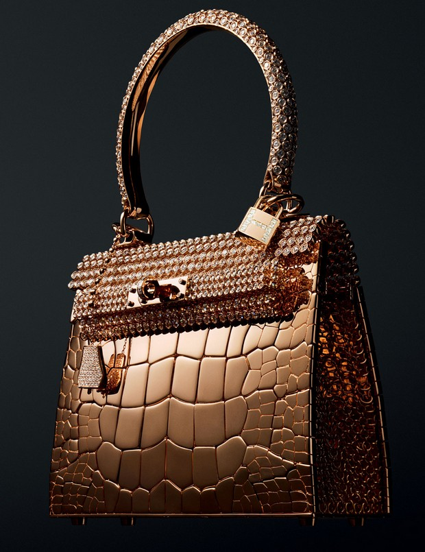 Hermes Birkin Gold Crocodile
