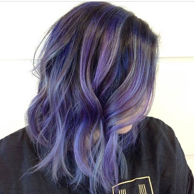 LIGHT PURPLE BOB