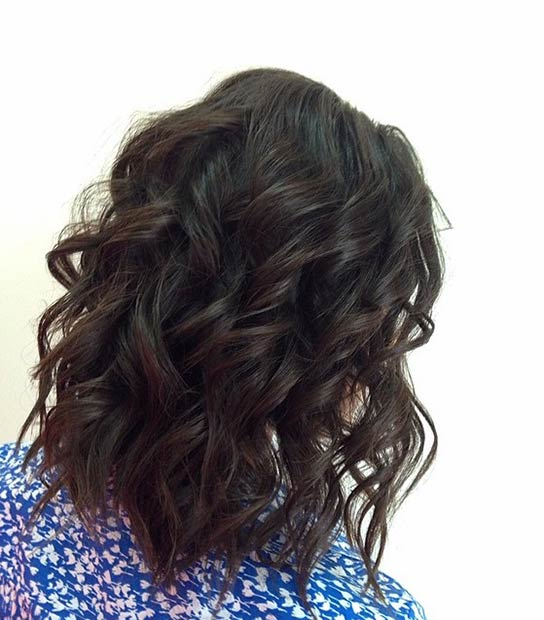 SIMPLE CURLY LOB