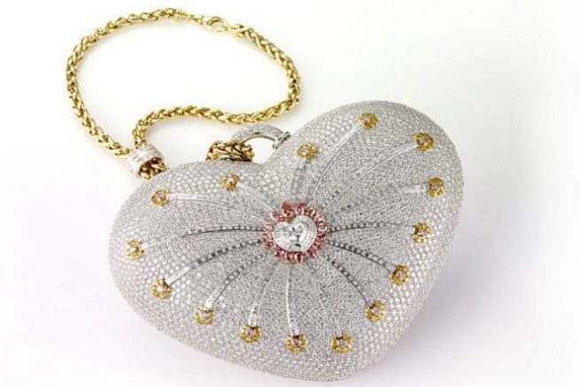 The Mouawad's 10001 Night Diamond Purse