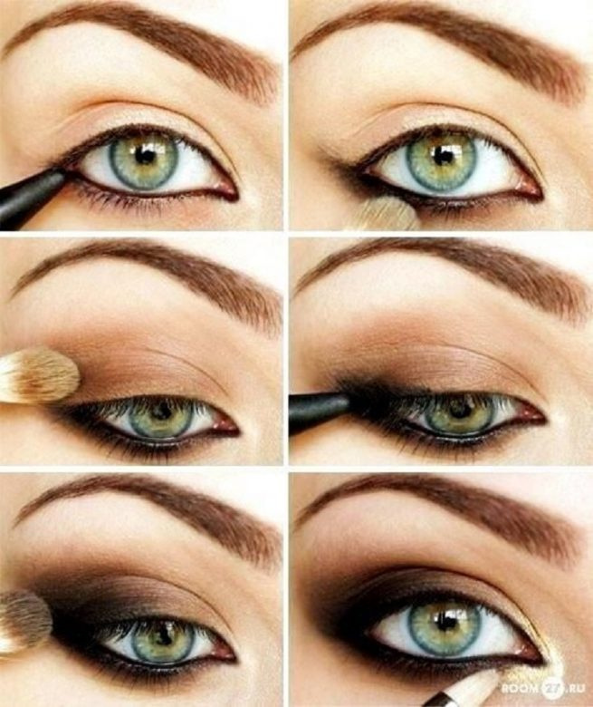 Brown Smokey Eyes Tutorial