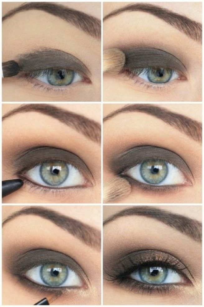 Classic Smoky Eyes Makeup