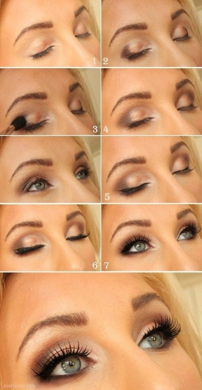 Shimmery Eyes Tutorial