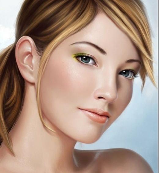 Mind Blowing Glamorous Digital Art Portraits