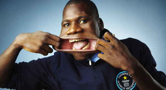 The Man With The Largest Mouth in The World