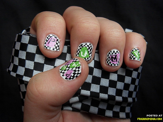 Incredibly Cool Nail Art Designs