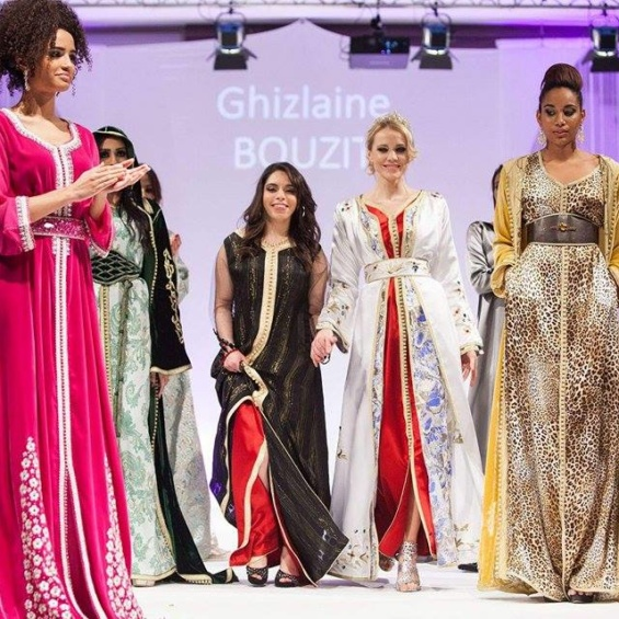 La créatrice Ghizlaine Bouzit  dévoile à Paris sa premiere collection au « Caftan And Luxury »