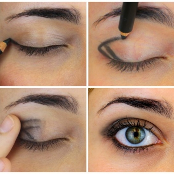 A tutorial make-up fast and easy