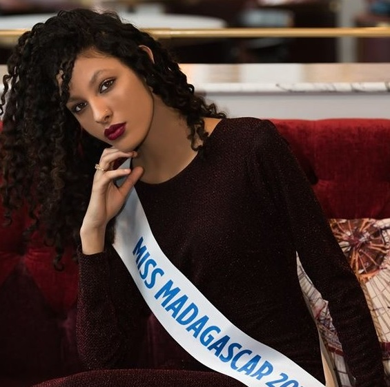 LUCIA SALAMA MISS MADAGASCAR 2017 FRANCE à L' ELECTION MISS AFRIQUE INTERNATIONAL