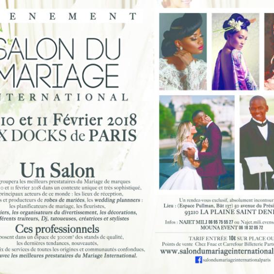 1er Salon International à Paris