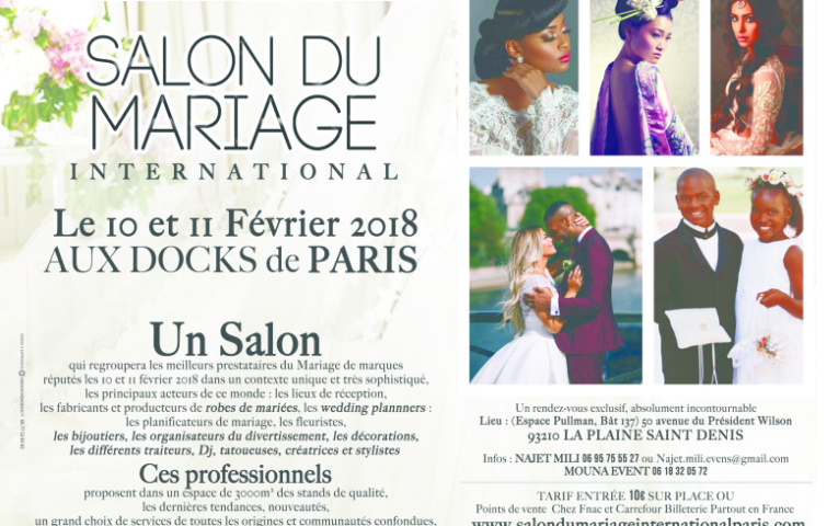 1er Salon International à Paris