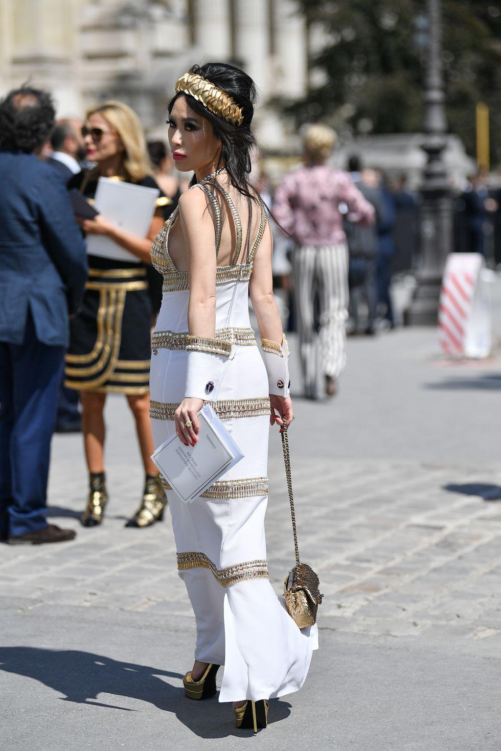 Haute Couture Client Christine Chiu