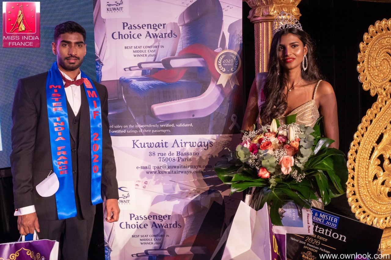 Miss India France 2020